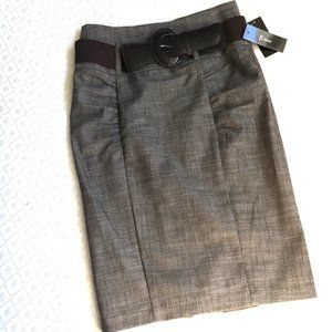 B-WEAR Pencil Skirts with Matching Belt NWT